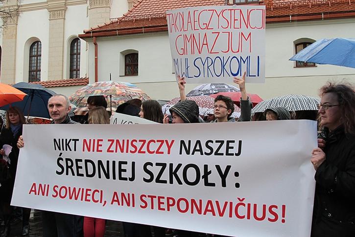 dyskryminacja polskiego szkolnictwa na Litwie