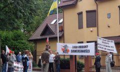 Pikieta przed konsulatem Ukrainy w Gdańsku - 11.07.2017